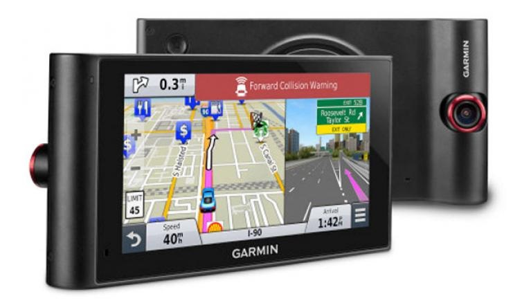 Garmin debuts first combined sat-nav and dash cam