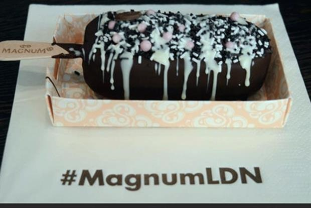 Unilever brings 'Make My Magnum' pop-up store to London