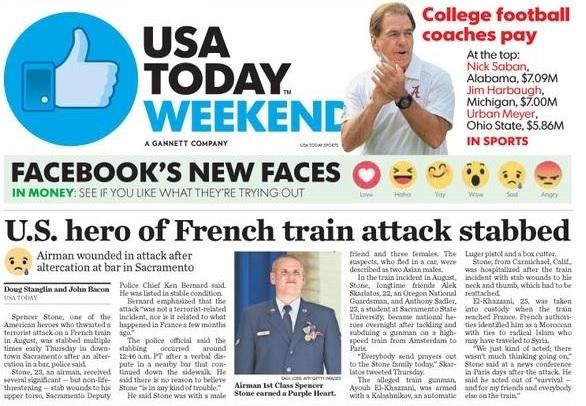 Usa Today Puts Emojis Into Print Headlines