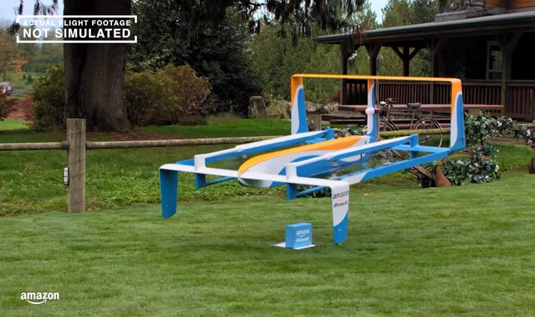 Amazon announces UK tests for delivery drones