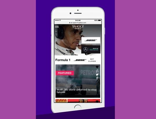 Bose boosts Formula One sponsorship with Yahoo partnership ...