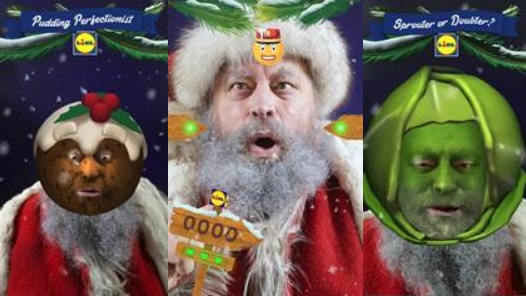 Lidl Creates An Emojinal Christmas Game With Brian Blessed