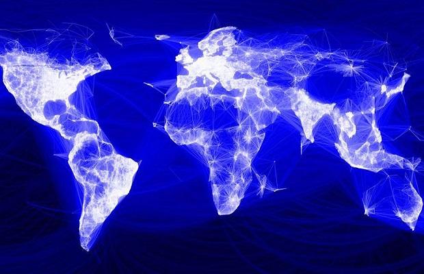 Social media use 'spans almost half global population'