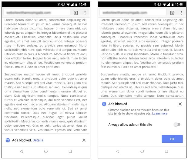 Google Chrome's ad blocker goes live tomorrow to kill annoying online ads