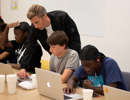 Snap, Facebook and MTV run workshops to inspire young digital pioneers