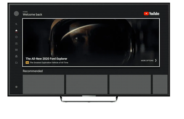 YouTube takes masthead ads to TV screens