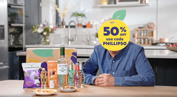 Craft Gin hires Philip F***ing Schofield for Christmas campaign