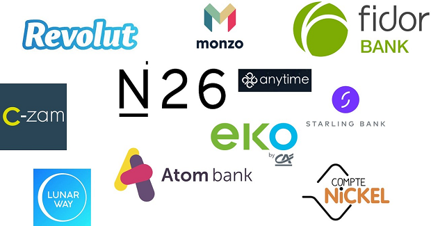 The top 5 fastest-growing neobanks of 2019