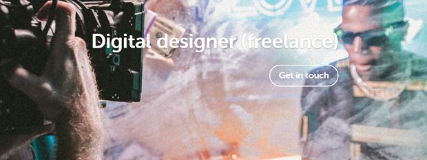 Job board: experienced digital designer (freelance)