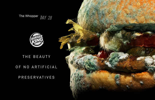 Ad of the week: Burger King serves up 'moldy Whopper'