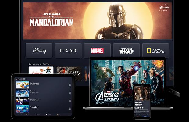 Disney+ goes live across Europe as online viewing figures surge amid lockdown