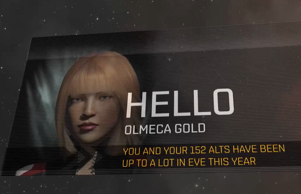 Eve Online players get personalised video updates
