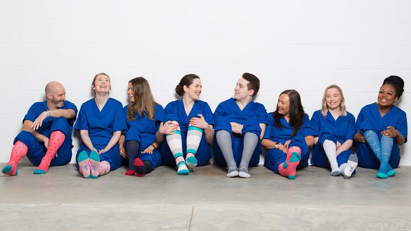 Online retailer donates 5,000 compression socks to help Scotland's nurses fight fatigue