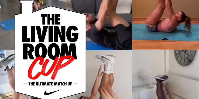 Campaign of the week: Nike's 'Living Room Cup' pits social media users against Cristiano Ronaldo in workout challenge