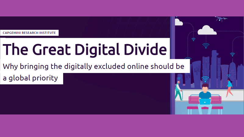 COVID-19 'lays bare the disadvantages of the digital divide'