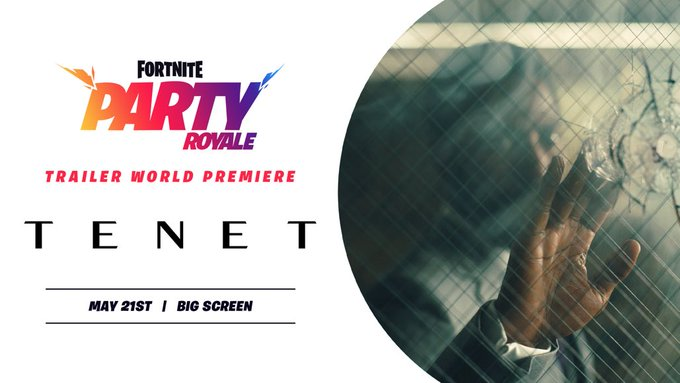 Fortnite premieres trailer of latest Christopher Nolan film 'Tenet'