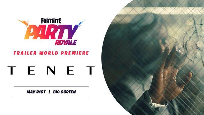 Fortnite premieres trailer of latest Christopher Nolan film 'Tenet'