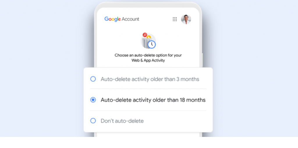 Google to automatically delete search and location data