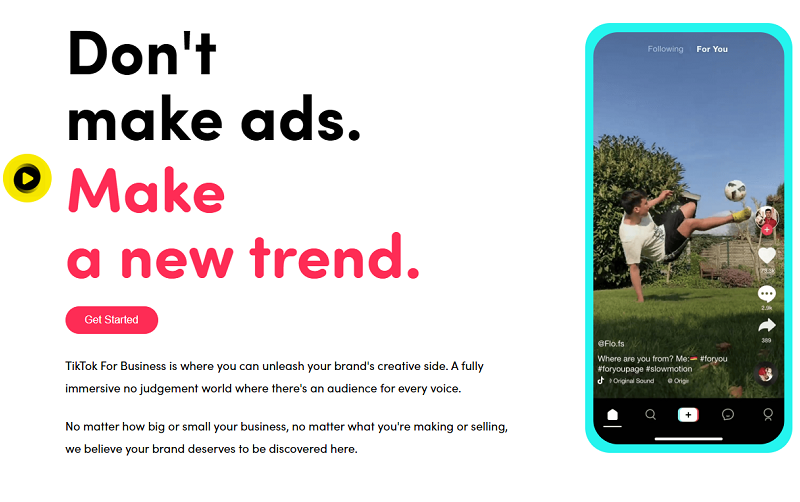 TikTok grows up: new marketing platform and AR ad formats for brands