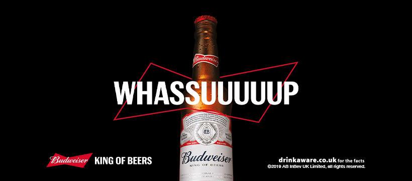 Budweiser celebrates football's return with stadium billboard selfies