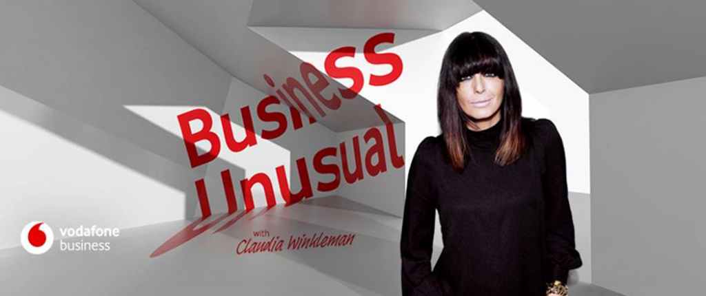 Vodafone teams with Claudia Winkleman for new 'Business Unusual' Podcast Series