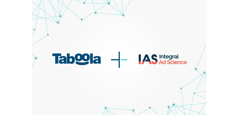 Taboola and IAS Partner on brand safety solution for clients