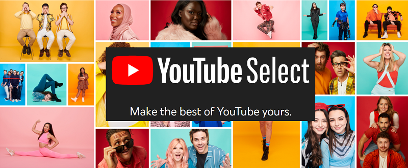 YouTube Select launches in UK: 'Line-ups' of top creators for advertisers