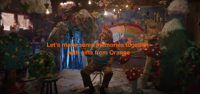 No filter: Orange France launches funny festive ad 'Unicorn Grandad'