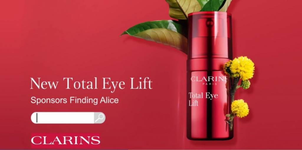 Clarins sponsors new ITV programme Finding Alice