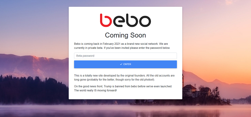 Blast from the past: Social network pioneer Bebo makes surprise return