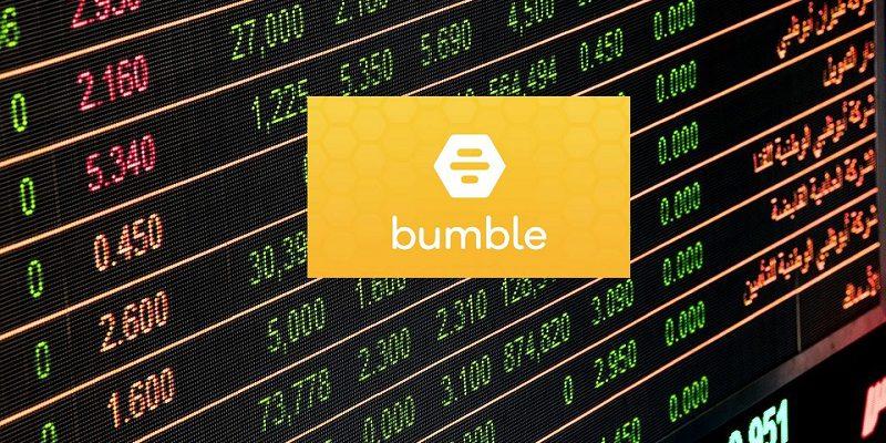 Bumble dating app tops $13bn in market debut
