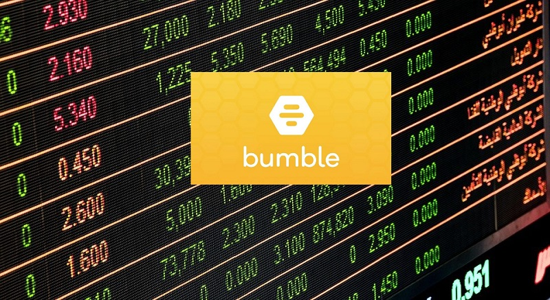 Bumble dating app tops $13bn in market debut