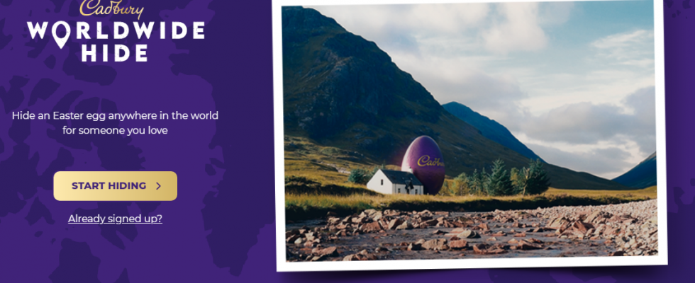 Cadbury launches 'Worldwide Hide' easter egg hunt campaign