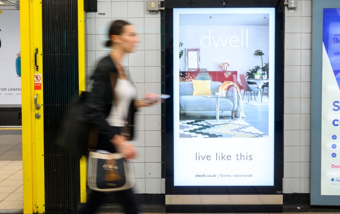 Global increases programmatic outdoor ad inventory across UK rail and tube venues