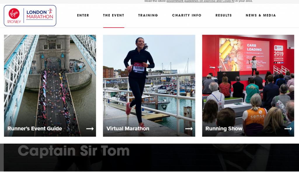 London Marathon revamps brand with new website