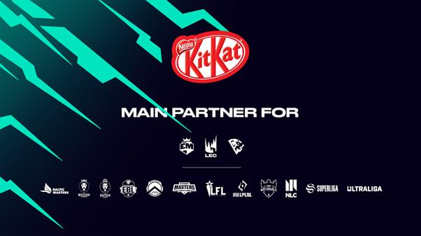 KitKat extends League of Legends esports sponsorship