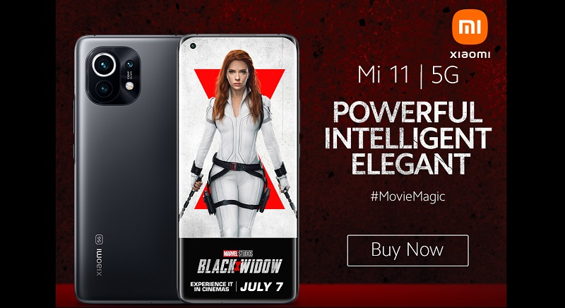 Technology giant Xiaomi has teamed up with Marvel Studios with a cross-promotional campaign for the upcoming film Black Widow, coming to cinemas and Disney+ users with premier access on Friday July 9.